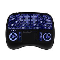 IPazzPort KP-810-21T-RGB Русский три цвета с подсветкой Mini Клавиатура Touchpad Airmouse 1TopShop, фото 3