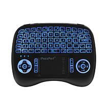 IPazzPort KP-810-21T-RGB Итальянский три цвета с подсветкой Mini Клавиатура Touchpad Airmouse 1TopShop, фото 2