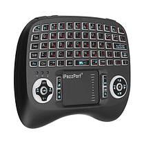 IPazzPort KP-810-21T-RGB Германская трехцветная подсветка Mini Клавиатура Touchpad Airmouse 1TopShop, фото 3
