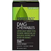 FoodScience, Dmg Chewables, 250 мг, 90 жевательных таблеток