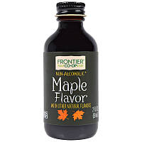 Кленовый сироп, Maple Flavor, Frontier Natural Products, 59 мл
