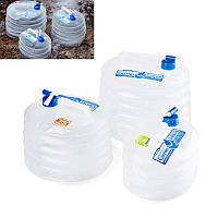 NaturehikeНаоткрытомвоздухеСкладнойконтейнер для воды Складной ковш PE пищевой Сорт Кемпинг Водонепроницаемы Сумки