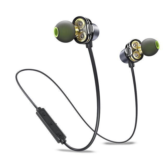 Awei X650BL Bluetooth Двойной водитель Магнитный вкладыш Наушник с Микрофон Линейный контроль 1TopShop