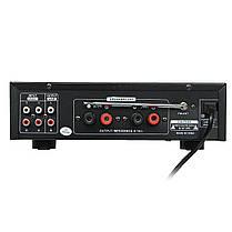 TELI BT-1388 HiFi Bluetooth Мощность Усилитель Стерео аудио караоке FM Приемник USB SD, фото 3