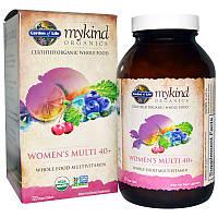 Мультивитамины для женщин 40+, Women's Multi 40+, Garden of Life, 120 таблеток