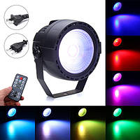 15W Stage Par Light COB LED RGB DMX Дистанционный Диско-бар DJ Ktv Show Party Лампа