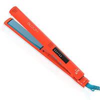 GA.MA. Утюжок для волос BLOOM LINE TORMALINE ORANGE, сверхдлинные пластины 12см