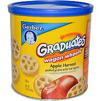 Кукурузные колёса с яблоком, Finger Foods, Gerber, 42 г