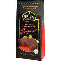 Настоящий шоколад, Real Live Chocolate, Go Raw, 6 упаковок по 8,5 г