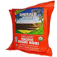 Great Eastern Sun, Органическая тихоокеанская нори для суши Emerald Cove, 50 листов, 4,4 унции (125 г)