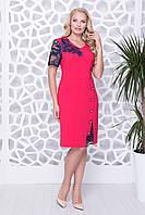 Платье Юзефа 60 красный