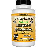 Яичная скорлупа, Eggshell Membrane, Healthy Origins, 500 мг, 120 кап.