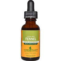 Herb Pharm, Фенхель, зрелое семя, 1 жидкая унция (29,6 мл)
