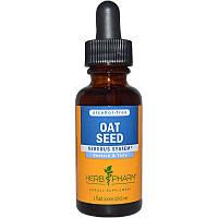 Herb Pharm, Экстракт семян овса, без спирта, 29,6 мл