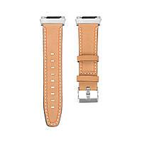 КожаныечасыСтандартыЗапаснойременьдля Fitbit ionic Smart Watch