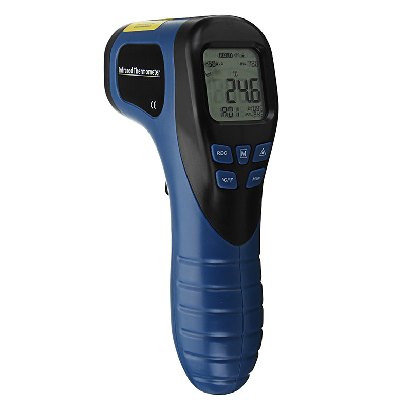 TL-IR750 Digital IR Термометр Бесконтактный инфракрасный датчик температуры Тип Лазер Temp Meter 1TopShop