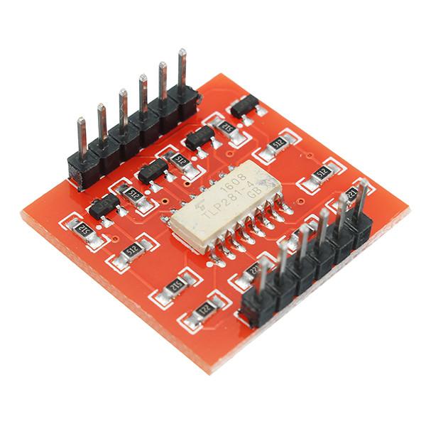 20Pcs A87 4-канальный модуль изоляции оптопары с высоким и низким уровнем расширения для Arduino 1TopShop