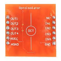 20Pcs A87 4-канальный модуль изоляции оптопары с высоким и низким уровнем расширения для Arduino 1TopShop, фото 2