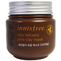 Маска для чистки и сужения пор (Jeju Volcanic Pore Clay Mask), Innisfree, 100 мл