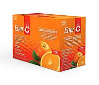 Шипучий Порошковый Витаминный Напиток, Вкус Апельсина, Vitamin C, Ener-C, 30 пакетиков