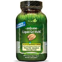 Мультивитамины без железа,  Multi, Irwin Naturals, 60 кап.
