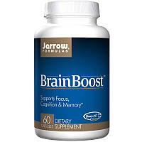 Витамины для мозга, Brain Boost, Jarrow Formulas, 60 капсул