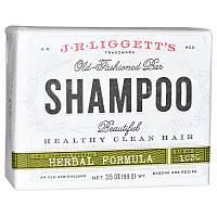 Шампунь с травяной формулой, Old Fashioned Bar Shampoo, J.R. Liggett's, 99 г