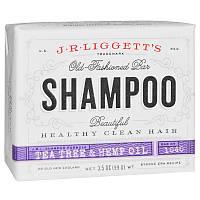 Шампунь с маслами чайного дерева и конопляным, Old Fashioned Bar Shampoo, J.R. Liggett's, 99 г