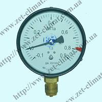 Мановакуумметр ДА 05100-13 для аммиака (диапазон измерения от -0,1 до 2,4 МПа) класс точности 1,5