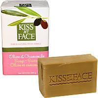 Чистое мыло с оливковым маслом, Soap Bar, Kiss My Face, 230 г