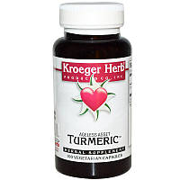 Kroeger Herb Co, Куркума, 100 растительных капсул