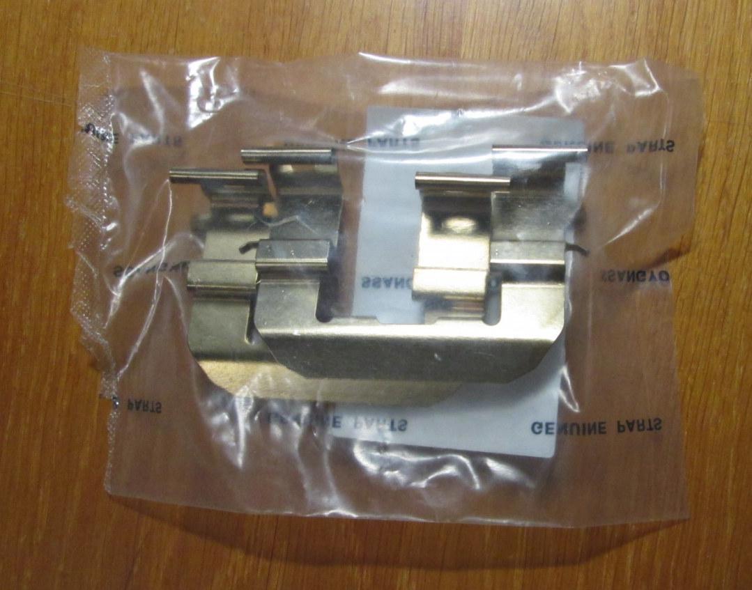 Пружина колодок тормозных прижимная Korando C Ssang Yong 00000008AR