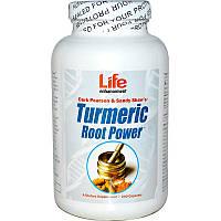 Life Enhancement, Сила корня куркумы, 240 капсул