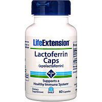 Лактоферрин, Life Extension, 60 капсул