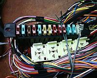 Жгут проводов передний карб.модель Таврии ЗАЗ 1102-3724010-20. Основной пучек проводки ст.обр 11021-3724010-20, фото 1