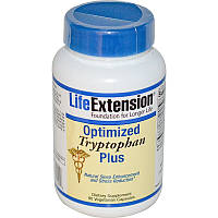 L-триптофан плюс (Optimized Tryptophan Plus), Life Extension, 90 капсул