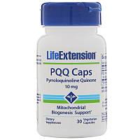 Пирролохинолинхинон, PQQ Caps with BioPQQ, Life Extension, 10 мг, 30 кап., фото 1