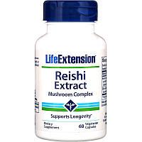 Лечебные грибы рейши (Reishi), Life Extension, 60 кап.