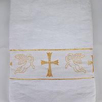 Полотенце/крыжма для крещения