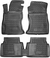 Полиуретановые коврики для Subaru XV II 2017- (AVTO-GUMM)
