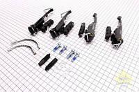 """Комплект тормозов на велосипед V-brake (задний + передний) 110мм """"ARTEK"""""""