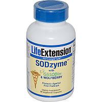 Супероксиддисмутаза СОД, SODzyme with GliSODin, Life Extension, 90 капсул