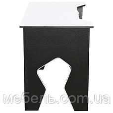 Стол компьютерный Barsky Homework Game White HG-03 белая столешница, фото 2