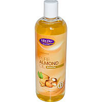 Миндальное Масло для тела, Life Flo Health, Pure Almond Oil, 473 мл