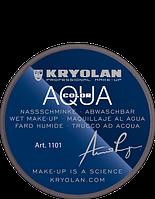 Серый аквагрим AQUACOLOR 8мл(оттенок 102)