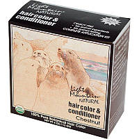 Органическая краска для волос, Light Mountain, Каштан, 113 г.