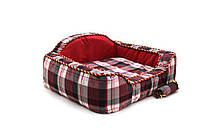 Диван для собаки Люкс красный, фото 1