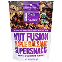 Смесь орехов с сухофруктами, Nut Fusion Supersnacks, Made in Nature, 113 г