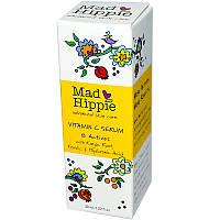Сыворотка с феруловой и гиалуроновой кислотой, витамином С, 8 применений, Mad Hippie Skin Care Products, 30 мл