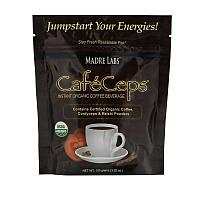 Кофейный напиток (Caf?Ceps), Madre Labs, 100  г
